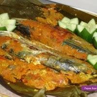 Resep Masakan Pepes Ikan Kembung Bumbu Rujak