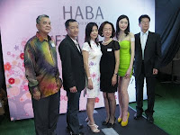 A photo of the VIPs after the official launch with the Haba girl
