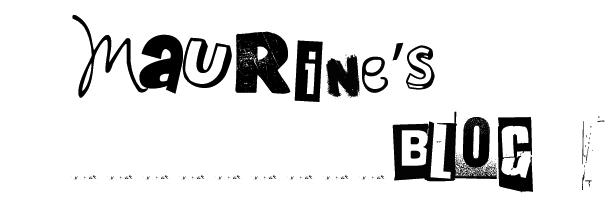 Maurine's blog