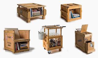 Casa Arredamento Riciclato : Riciclo legno e cartoni la casa delle idee