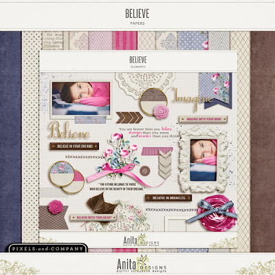 Believe by Anita Designs @ Pixels & Company
