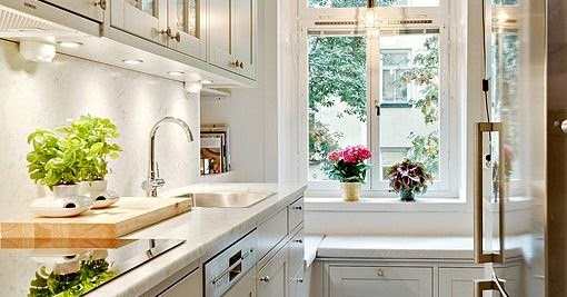 Image Result For White And Gray Kitchen Cabinets