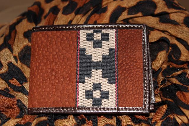 capybara leather wallet