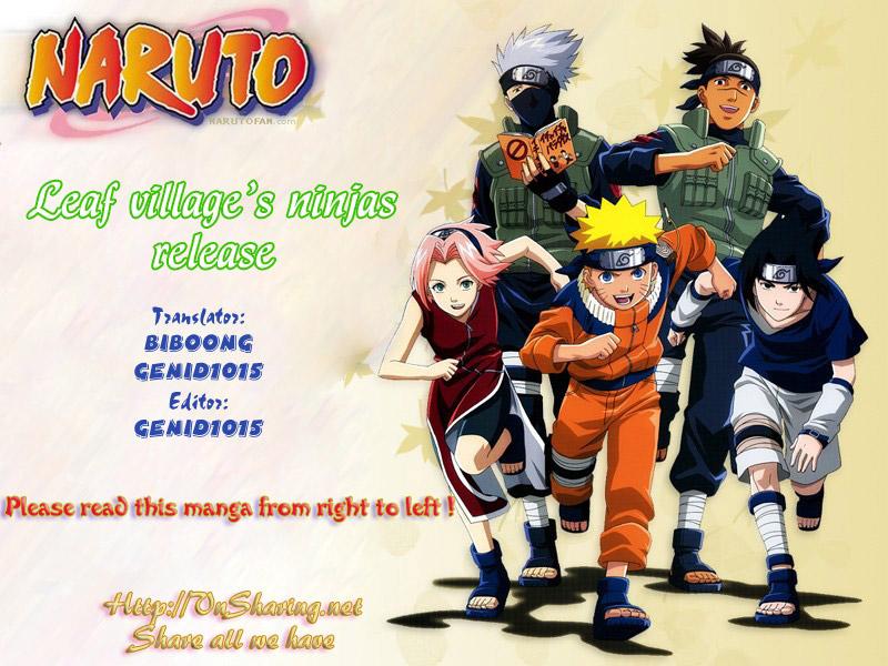 Naruto chap 444 Trang 1 - Mangak.info