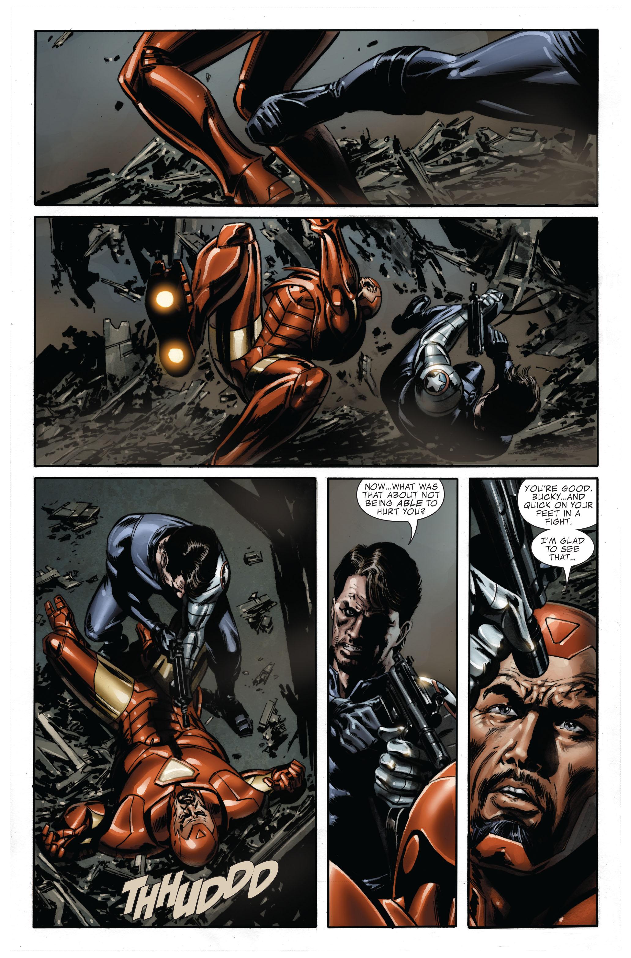 Captain America (2005) Issue #33 #33 - English 17