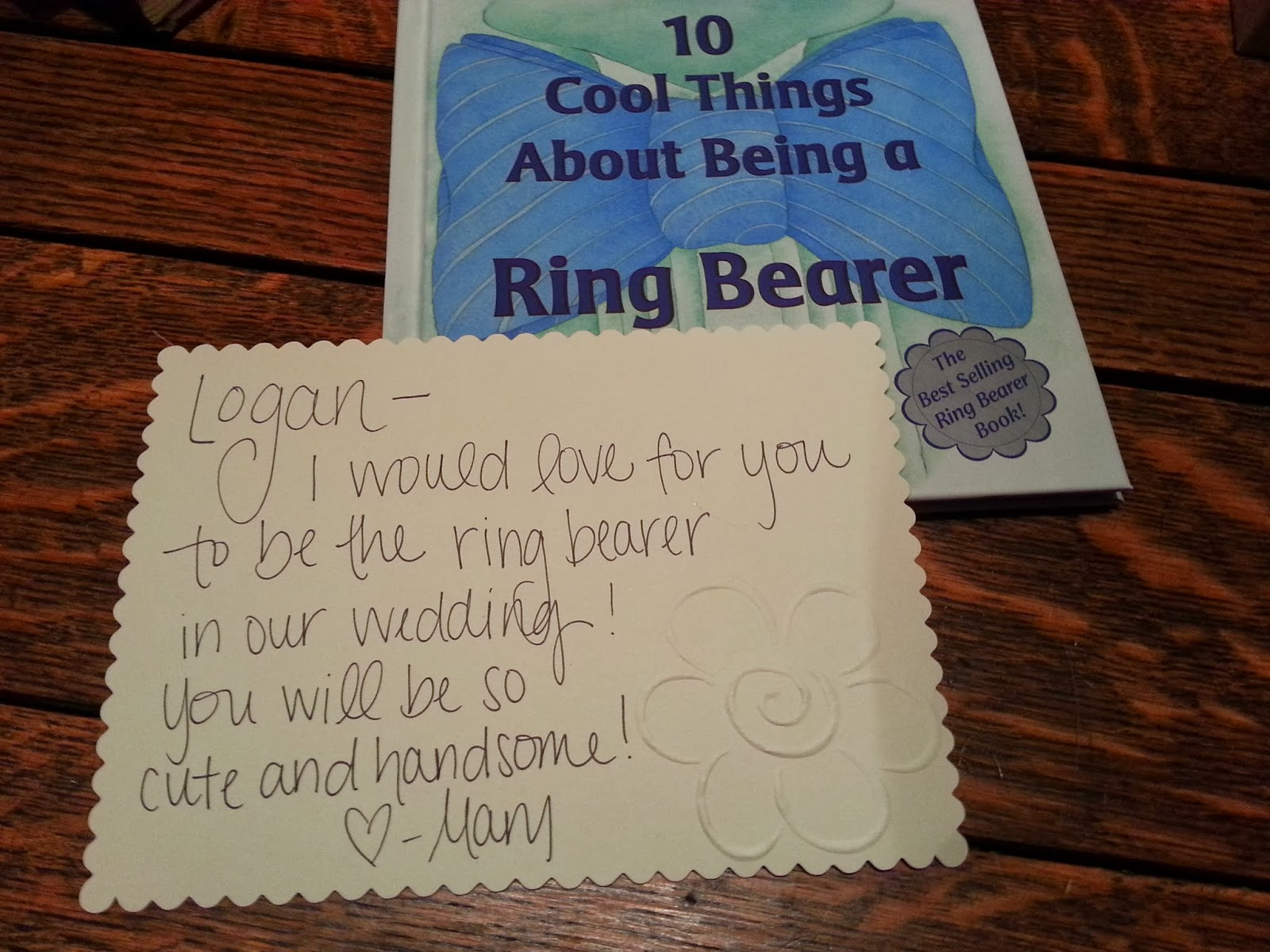 Cool Things About Being A Ring Bearer
