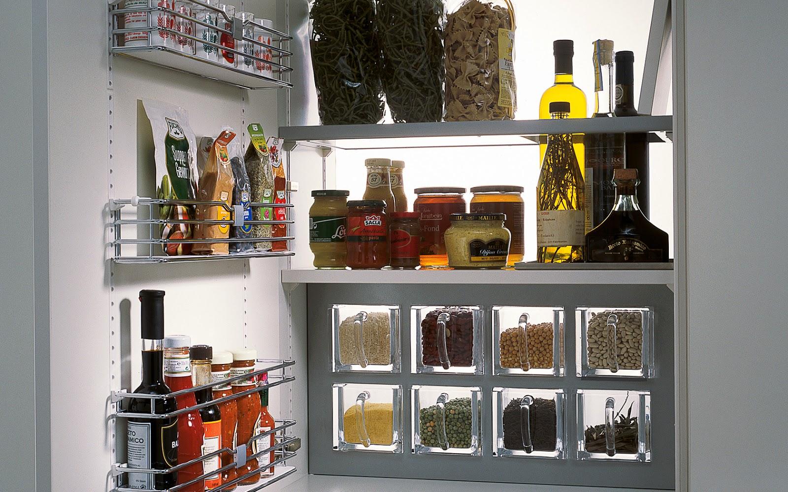 Ideas y accesorios para mantener la cocina en orden cocinas con estilo - Ikea mobili cucina dispensa ...