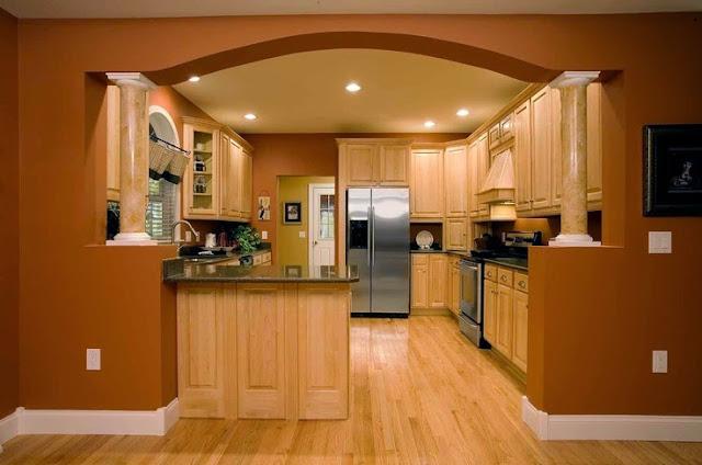 Арка кухня дизайн интерьер фото