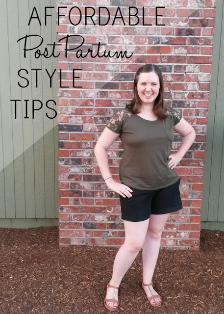 Affordable Postpartum Style Tips | Simple Moments Stick