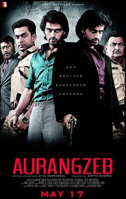 Aurangzeb 2013 Hindi BluRay 720p 1GB