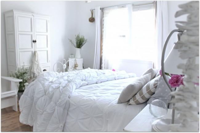 Excepcional Dormitorios Vintage Blanco Imagen Ideas para el hogar