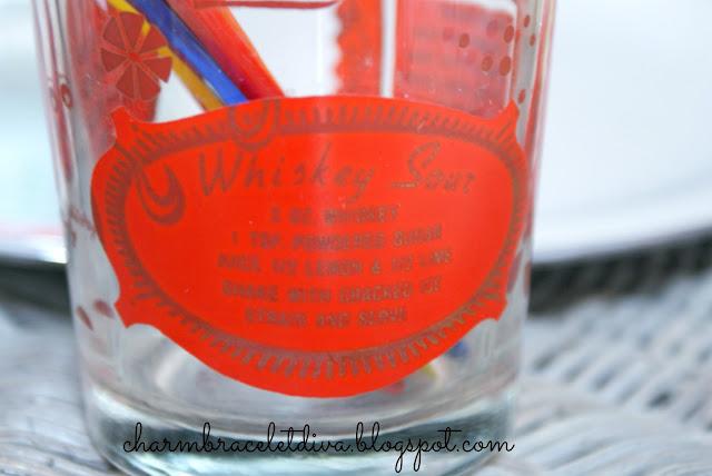 vintage highball glass whiskey sour recipe