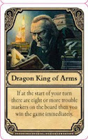 Ankh-Morpork - The character card for the Dragon King of Arms