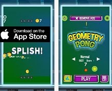 iOS Game of the Month - Geometry Pong 2016