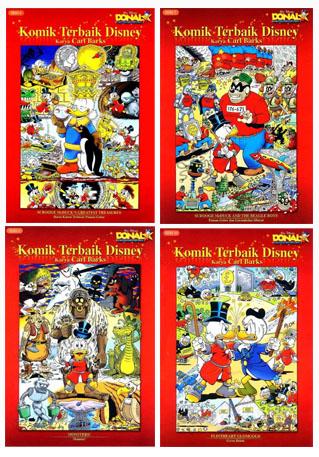 Baca Buku Online: Komik Donald Bebek
