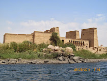 Temple of Isis at Aglikia Island, Aswan, Egypt