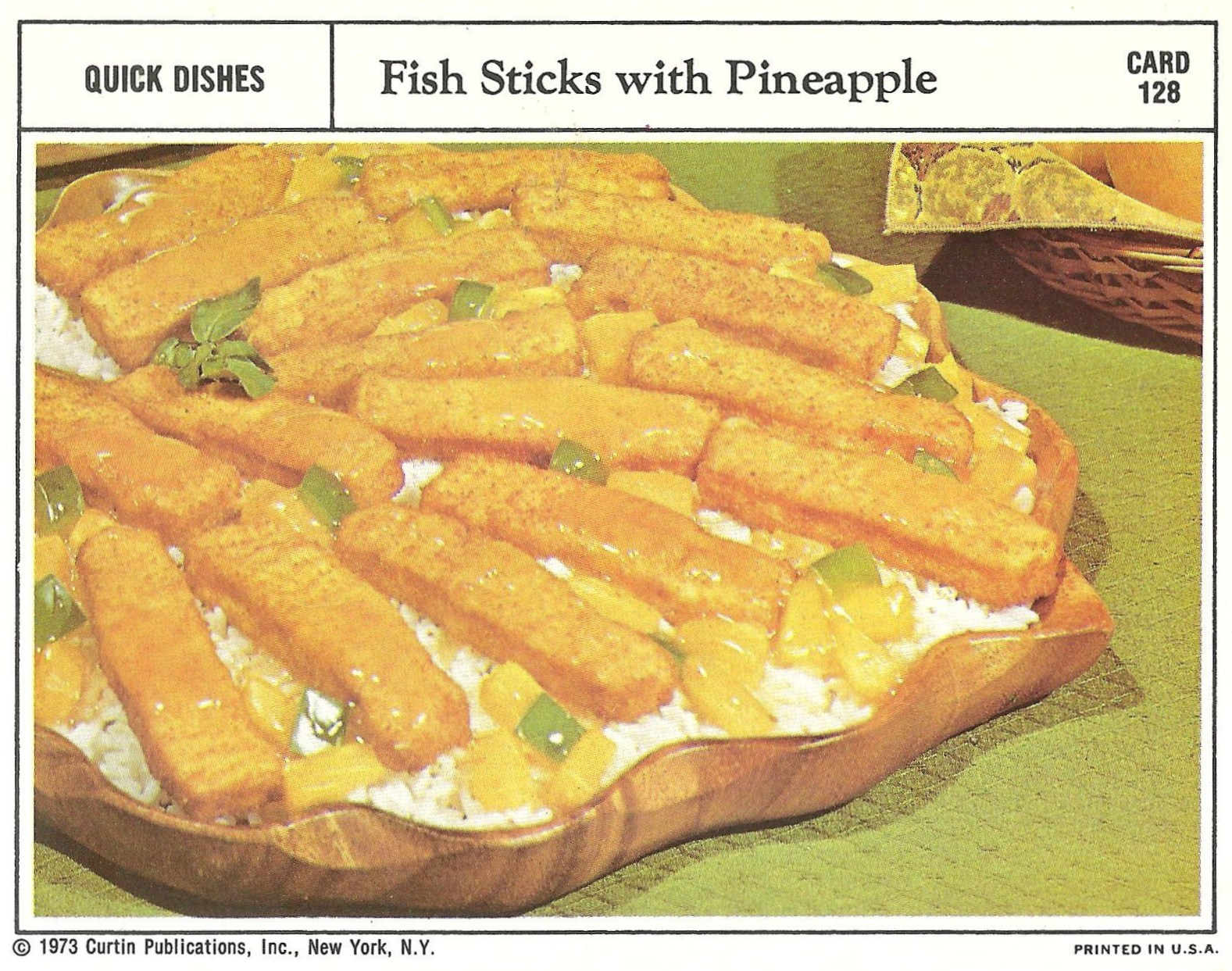 Bad and ugly of retro food the epitome of 1970 39 s food for Are fish sticks good for you
