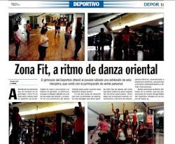 Prensa: Angelina en el DeporSport