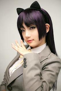 Ore Imouto Kuroneko (seifuku) cosplay by Miyuko