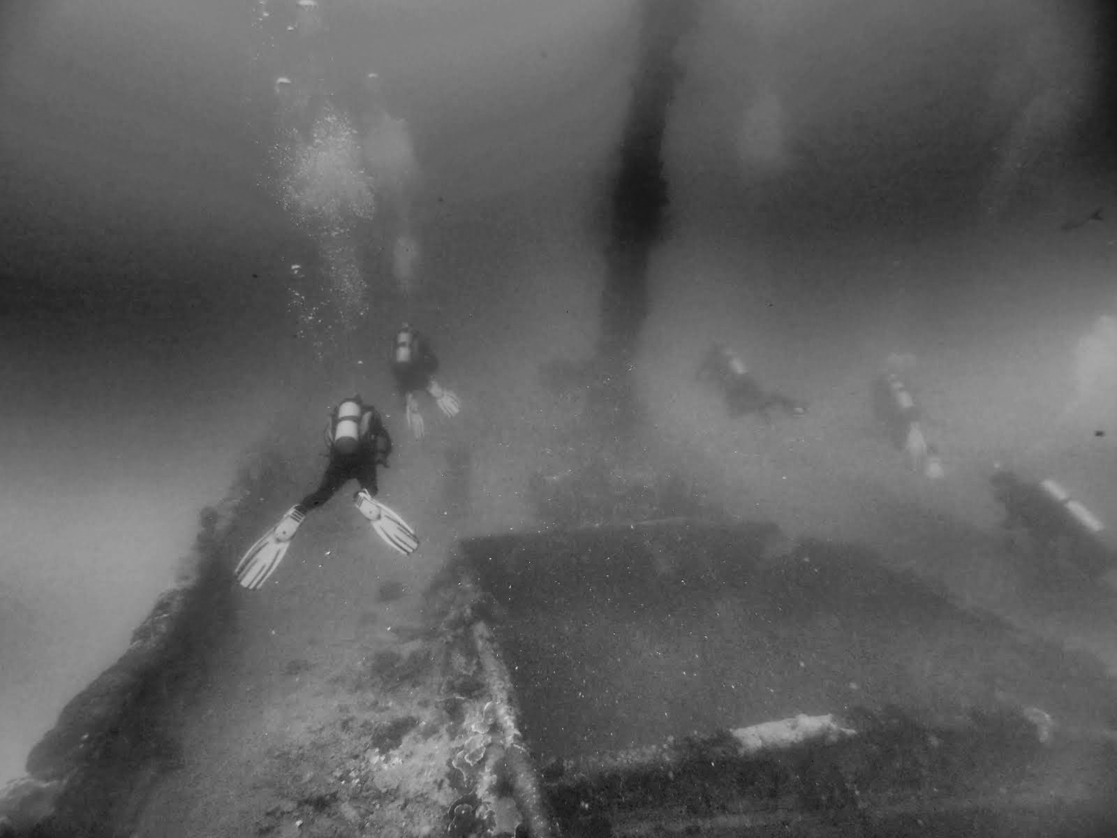 WWII Wreck Diving