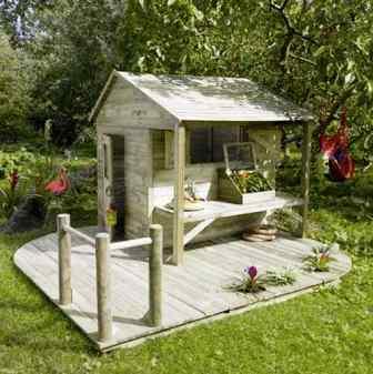 deco maison de charme: Abri de jardin bois castorama
