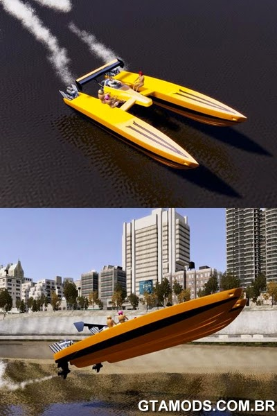 Dragboat Twin V8 v1.0