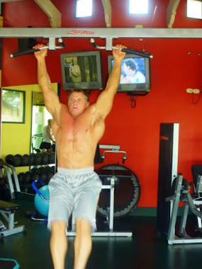 Shawn Rene's Dad! Working out in Aruba! Family Vacation Candid Fun Fitness Family Photo!