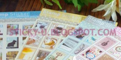 002: Tinki's Vintage Stamp Sticker