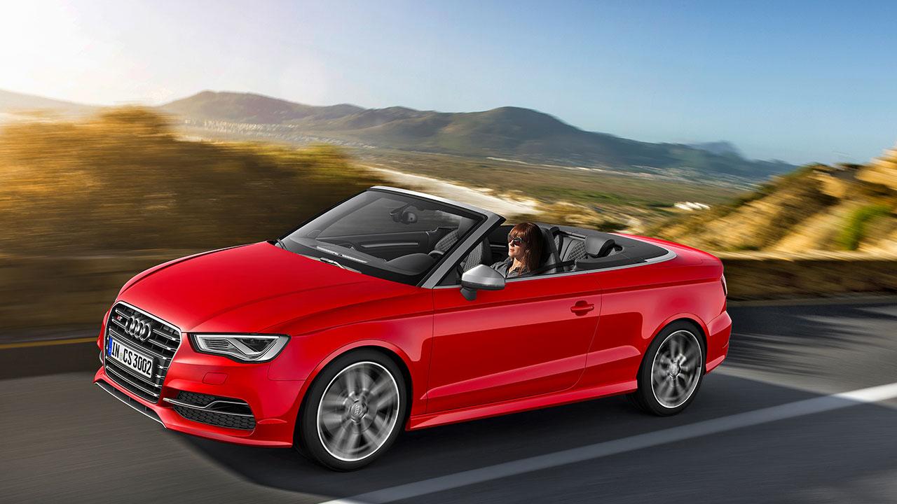 Audi S3 Cabriolet side