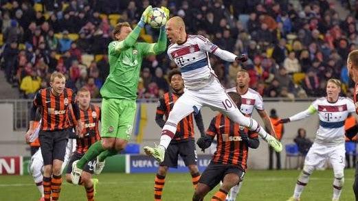 Shaktar Donetsk 0-0 Buyern munich