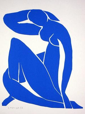 desnudo-azul-ii-1952-henri-mattise