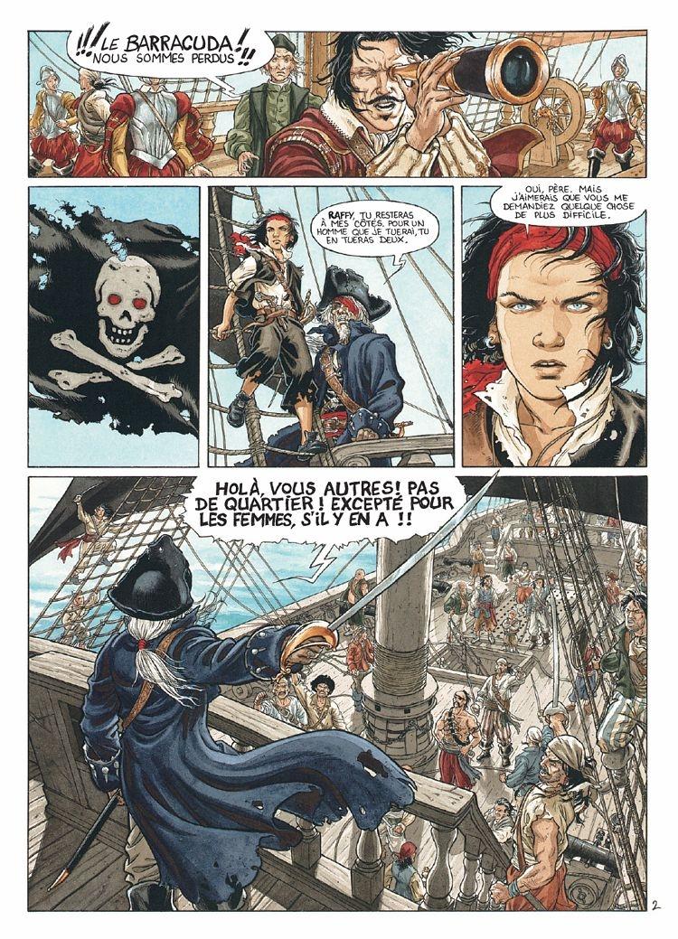 Pagina ilustrada por Jérémy Petiqueux