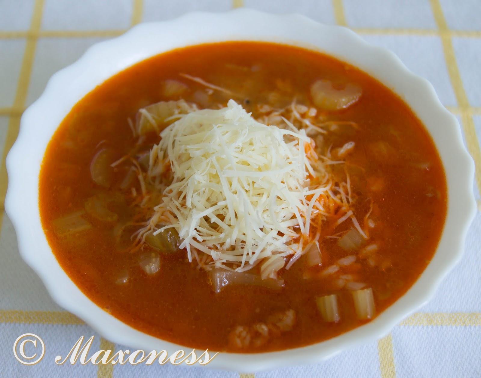 Сельдерейный суп из Абруцци. Итальянская кухня.