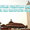Kumpulan Perda Kota dan Kabupaten Serang - Banten (Updated Periodically)