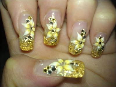 nail nailart 3dnailart arylicnail art kawaii japanese candy design cool best hello kitty candy tokyo 2528172529 - Nail Art
