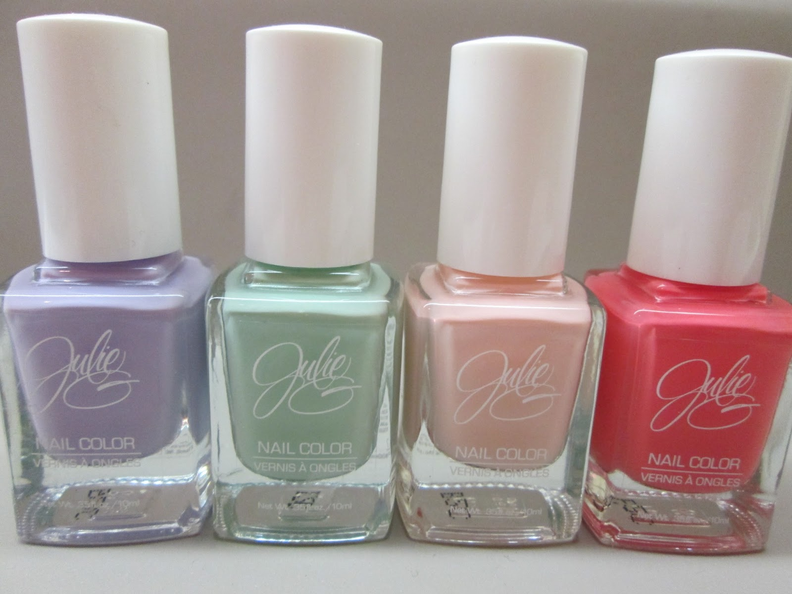 Pretties and Pearls: Julie G Nail Polishes: Fairytale, Julie\'s Fave ...