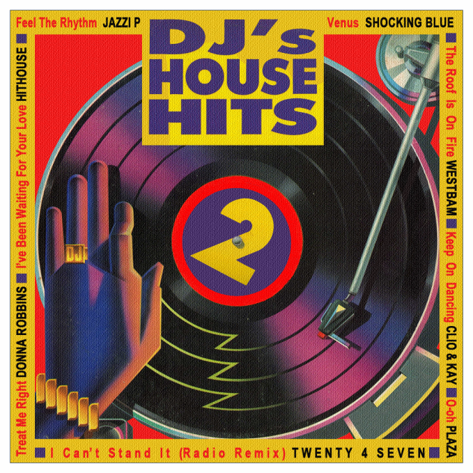 Europopdance dj 39 s house hits 2 1990 for House music 1990 songs