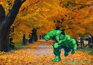 Hulk The Incredible Hulk Desktop Wallpaper Hulk Trying to get You at Autumn Trees Desktop wallpaper
