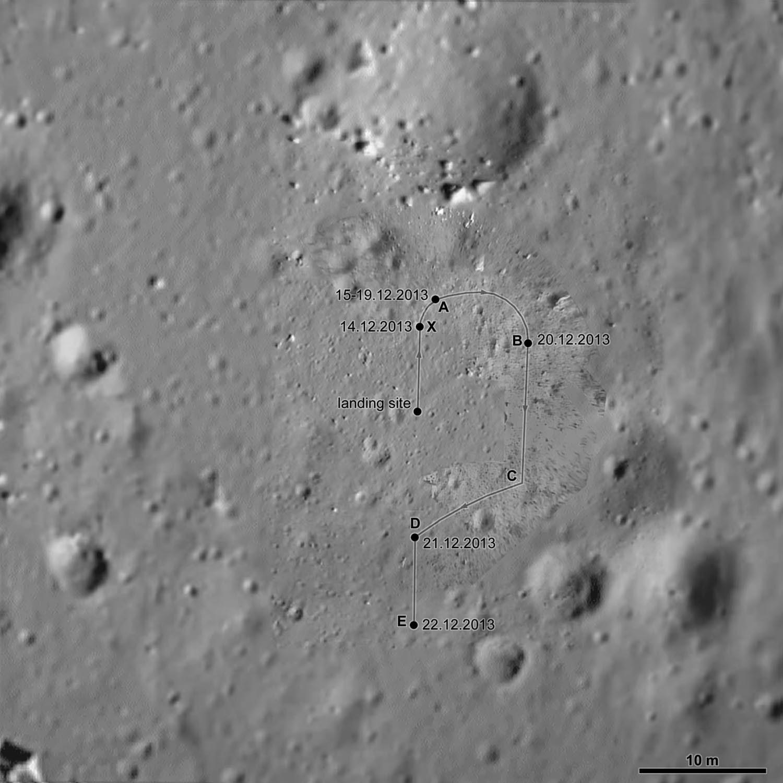 Chang'e-3, lander e rover in ibernazione pronti a resistere alla lunga notte Lunare