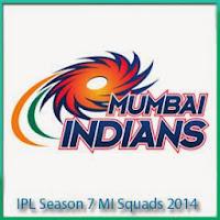 IPL 7 2014 MI Team Players Name and Profile MI Full Scorecards In ipl 7 2014
