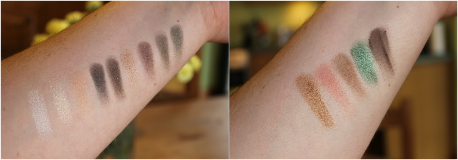 NYX 'Love In' Palettes Swatches