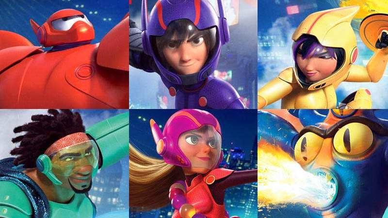Disney Noticias Mexico: 6 Grandes Héroes se estrena el 14
