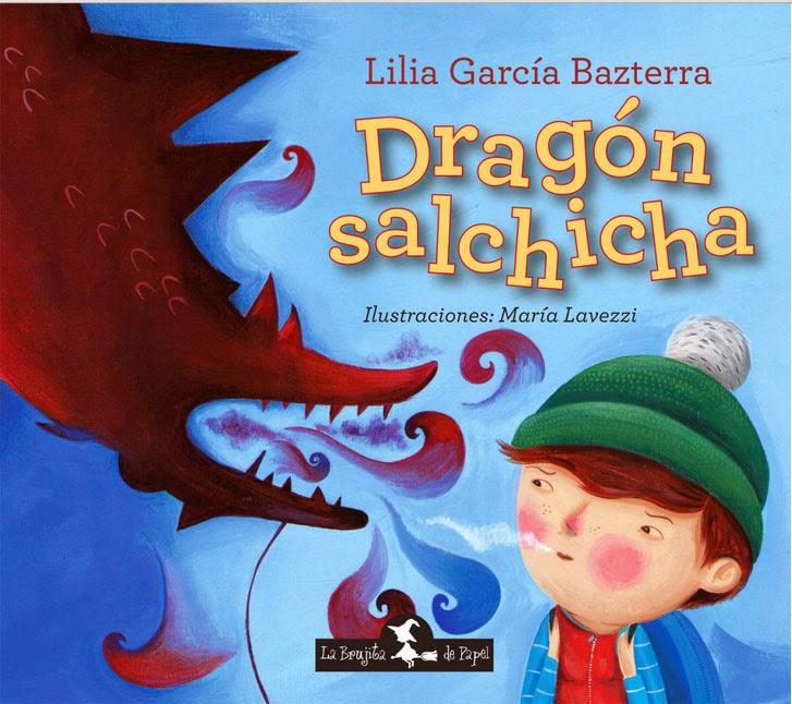 """Dragón Salchicha""- La Brujita de papel"