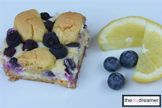 The D.I.Y. Dreamer: Lemon-Blueberry Crumb Bars!! (Take 2)