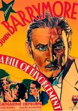 Doble sacrificio (1932 - A Bill of Divorcement) - Cartel -  Cine Clasico