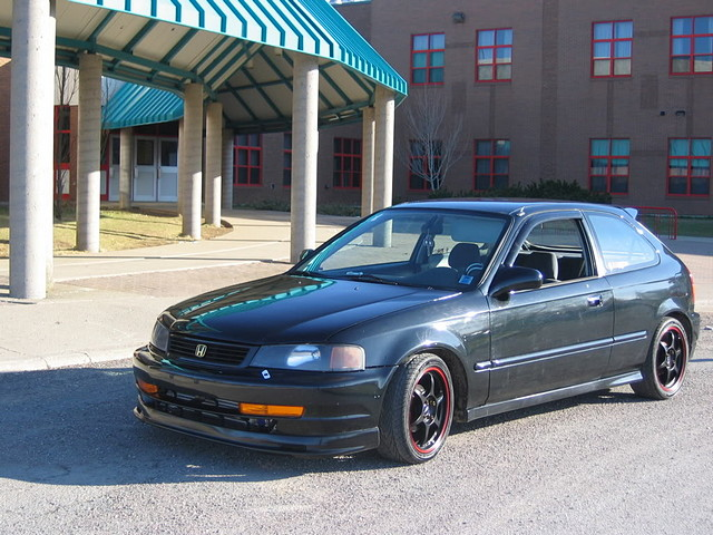 Honda Civic VI, hatchback, domani conversion