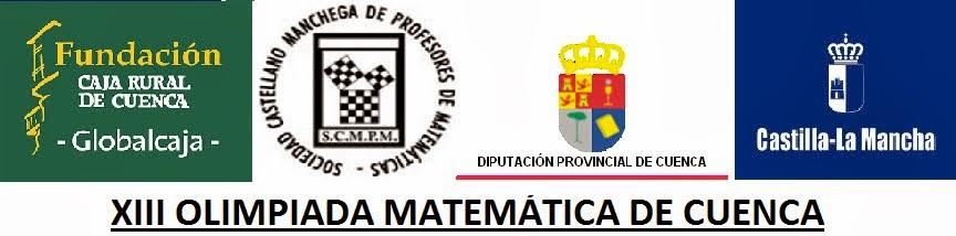 XIII OLIMPIADA MATEMÁTICA DE CUENCA