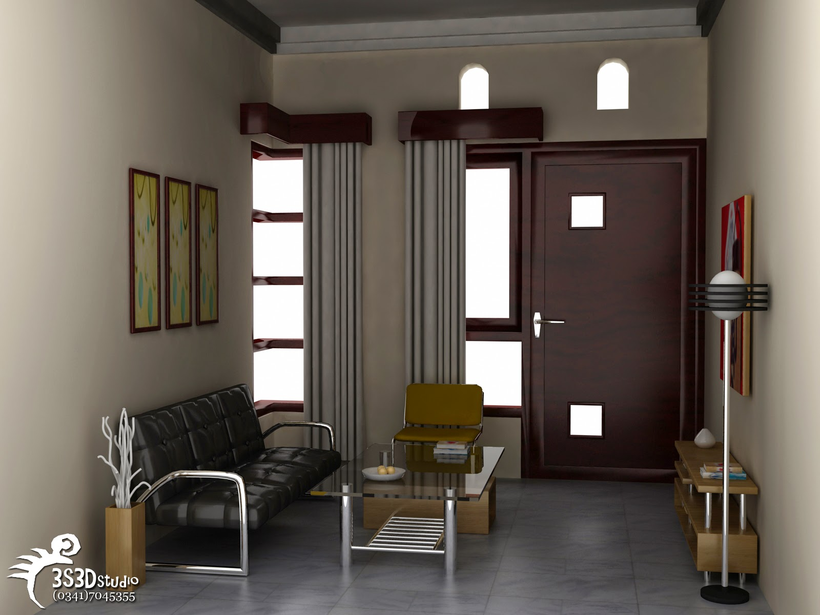 Interior rumah kecil minimalis sederhana type 36 cari for Design interior minimalis modern