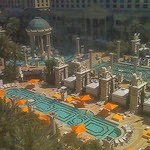 Las Vegas pools - Caesar's Palace