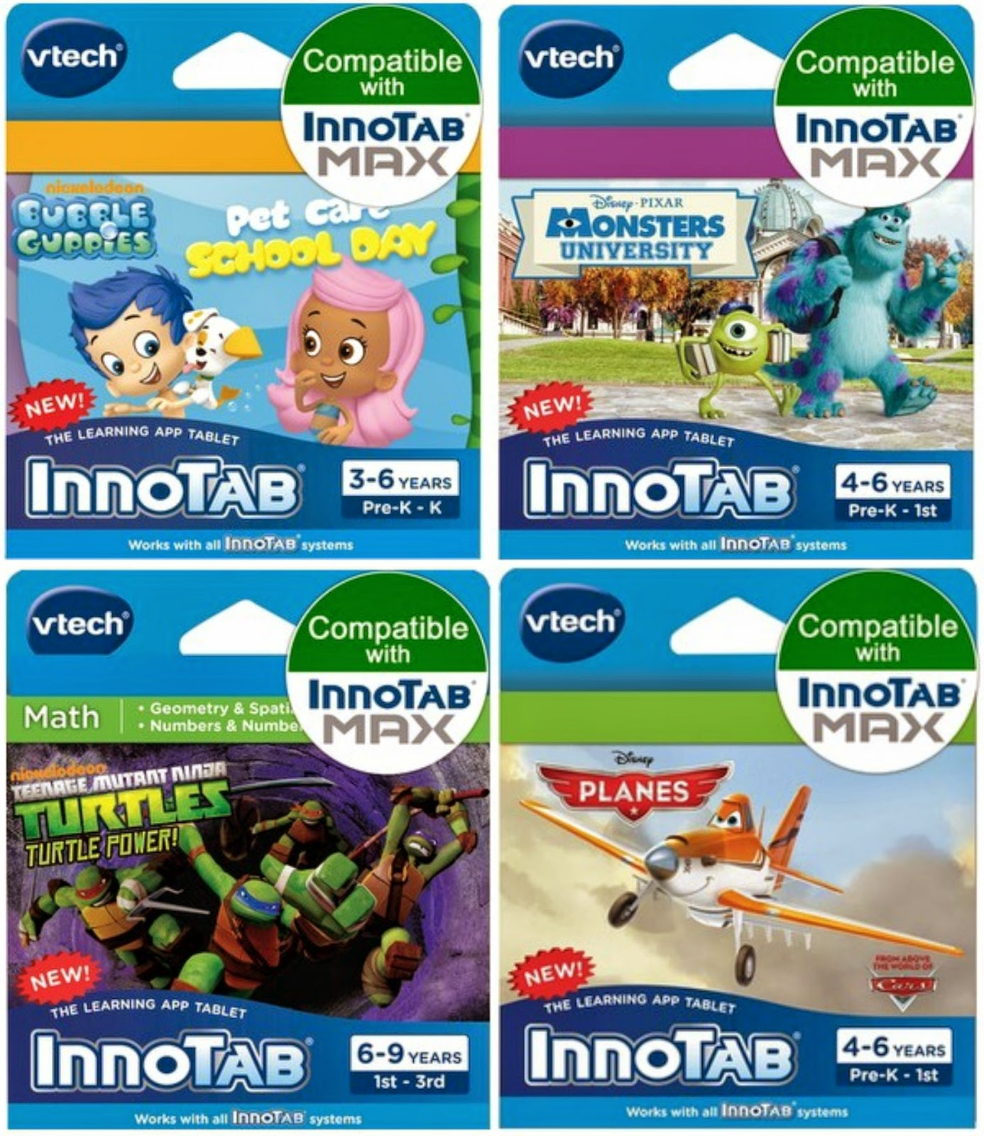 VTech Innotab cartridges